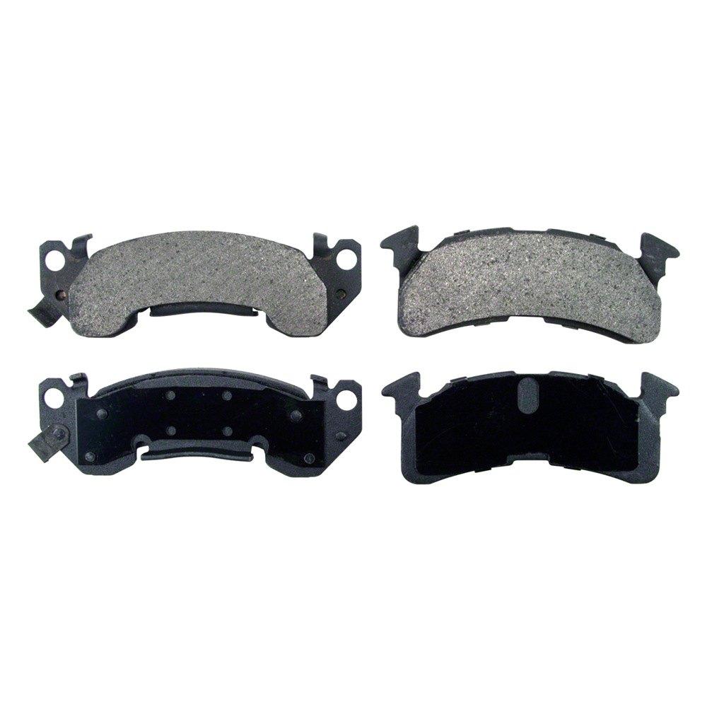 Wagner severeduty semi metallic front disc brake
