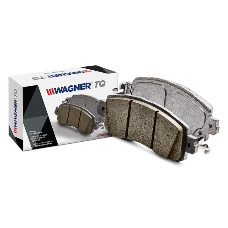 Disc Brake Pad Set-ThermoQuiet Disc Brake Pad Front Wagner QC1731