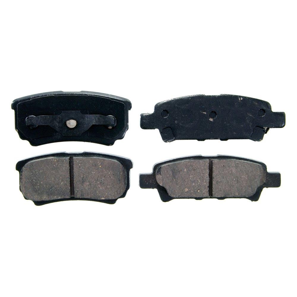 Wagner zd quickstop™ ceramic rear disc brake pads