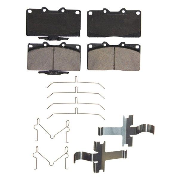 Wagner QuickStop ZD531 Ceramic Disc Brake Pad Set
