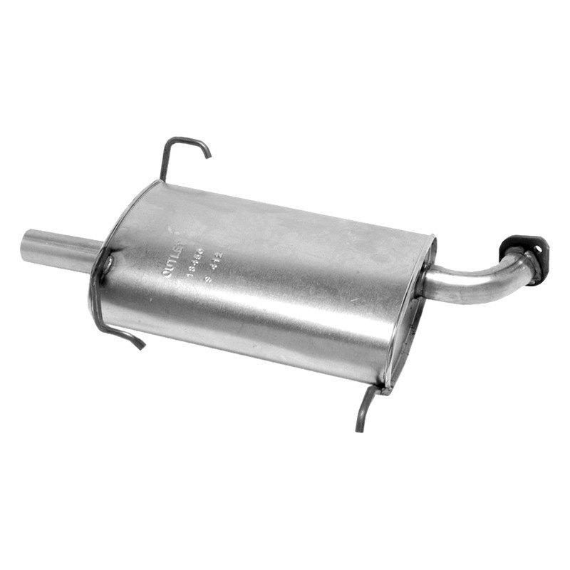 Nissan altima exhaust pipe diameter
