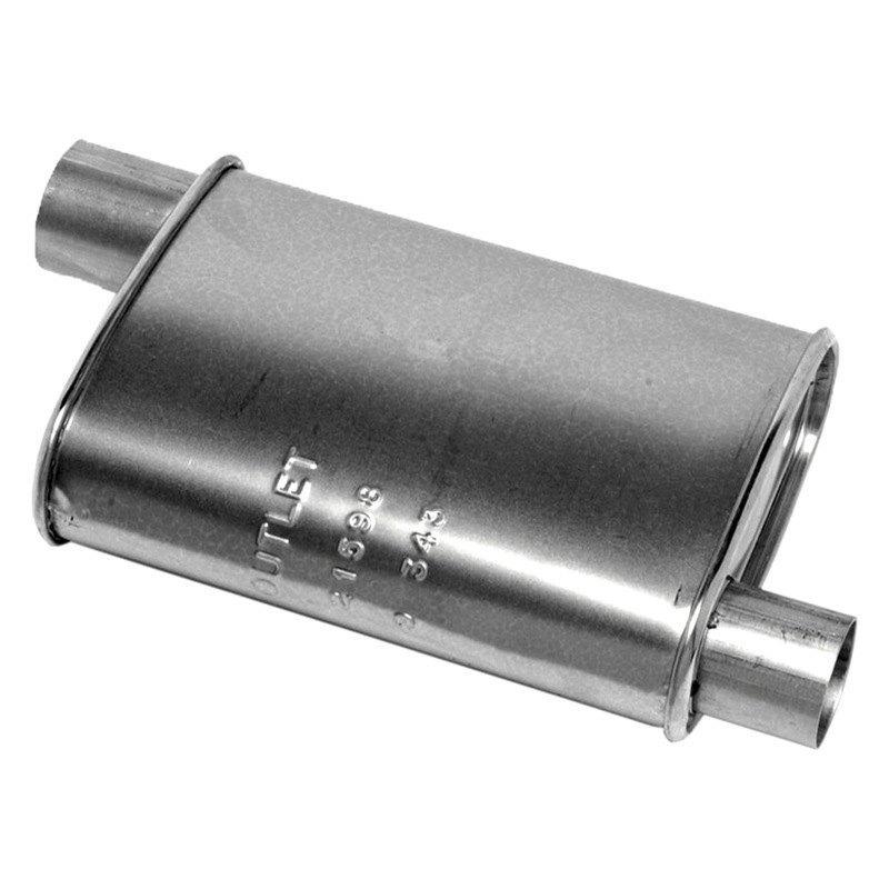 Walker® 21598 - Quiet-Flow™ Driver Side Aluminized Steel ...