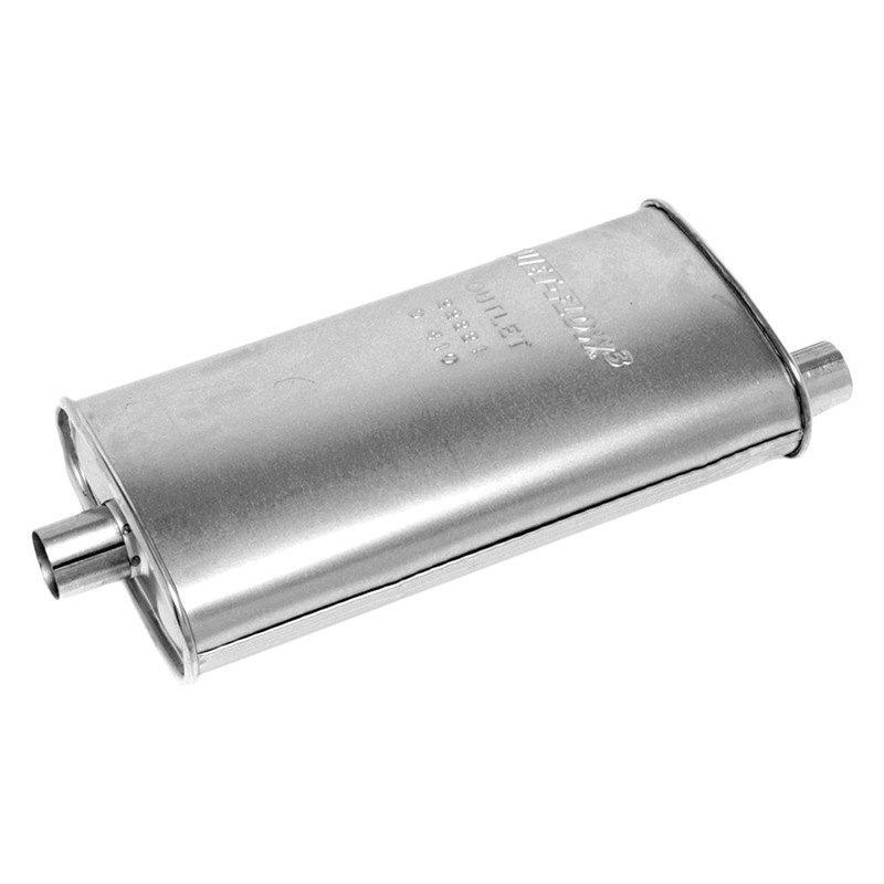 Walker® 22221 - Quiet-Flow™ Stainless Steel Oval Muffler