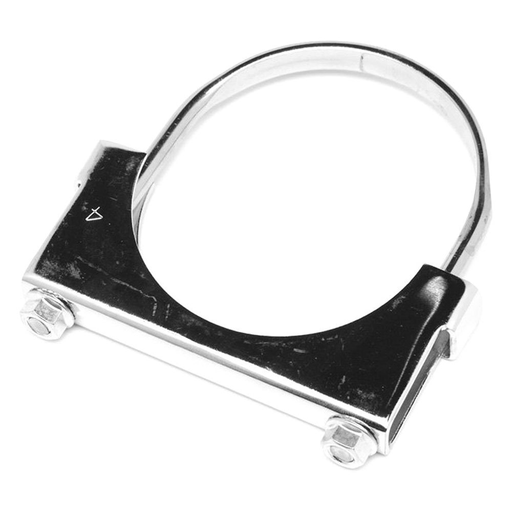 Walker steel chrome flat strap u bolt clamp ebay