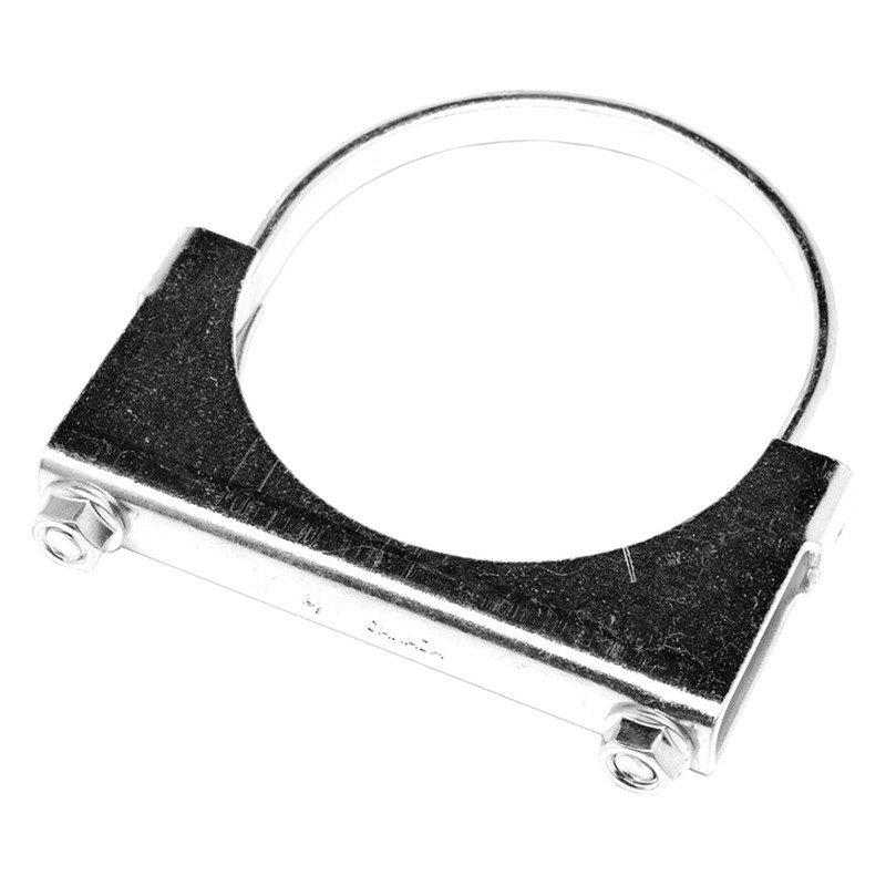 Walker steel natural flat strap u bolt clamp