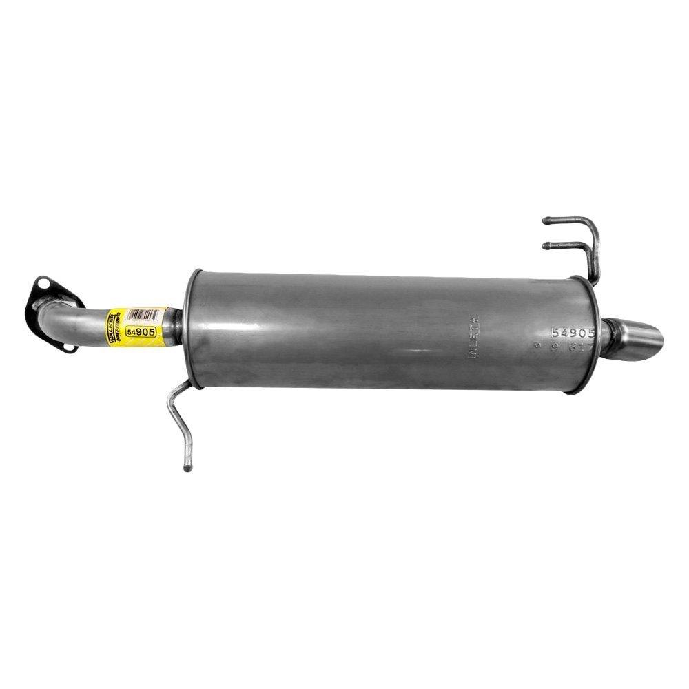 Walker® 54905 - Quiet-Flow™ Stainless Steel Round Bare ...
