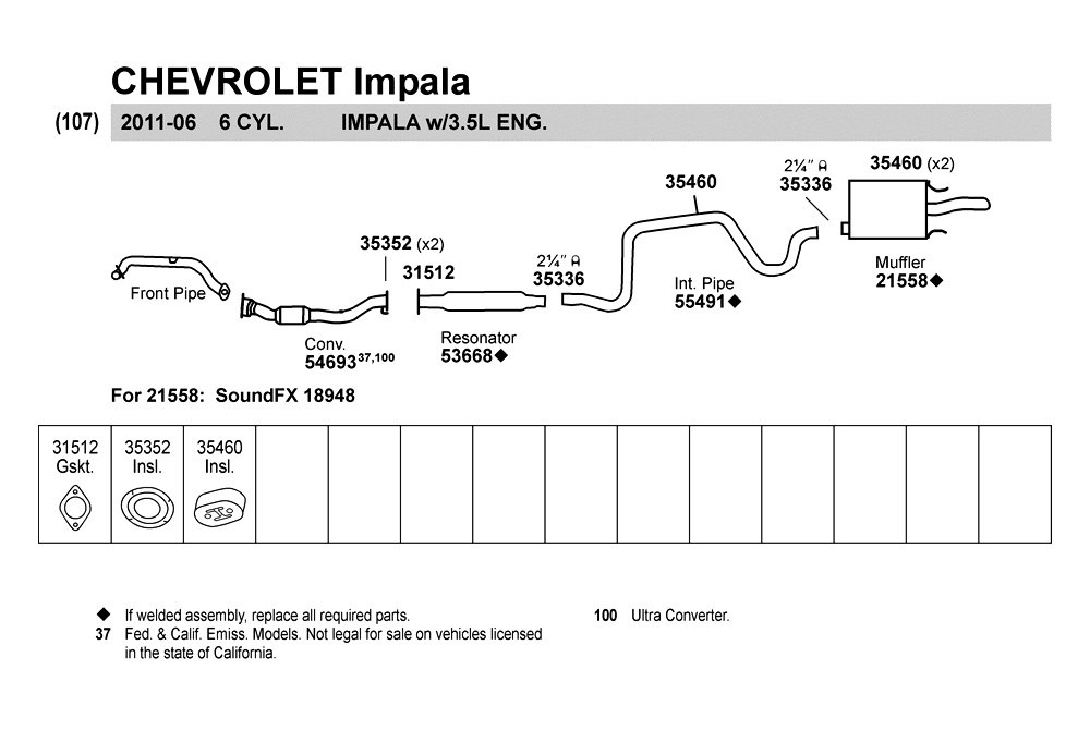 2000 chevy cavalier exhaust system diagram 2001 chevy impala exhaust system diagram #8