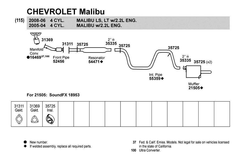 1997 chevy lumina exhaust diagram  1997  get free image
