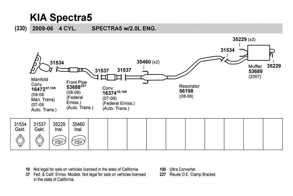 Kia Spectra Exhaust Diagram Kia Free Engine Image For