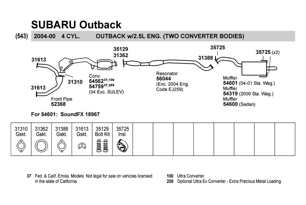 2003 subaru impreza engine diagram wirdig 2003 subaru wrx exhaust diagram as well 2000 subaru outback exhaust