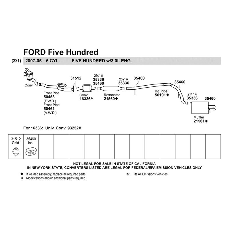 2007 ford five hundred parts diagram - ampatk 05 ford freestyle wiring diagram #6
