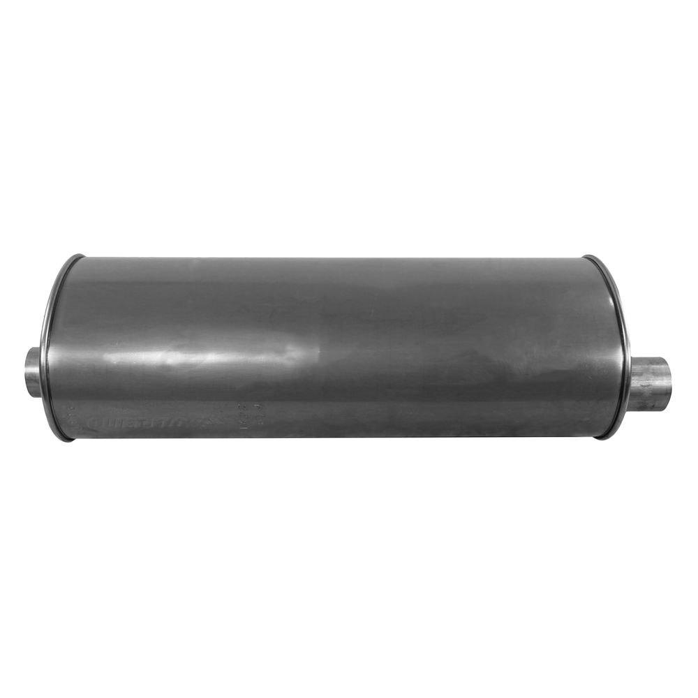 Free Flow Exhaust >> Walker® 21422 - Quiet-Flow™ Stainless Steel Oval Aluminized Exhaust Muffler