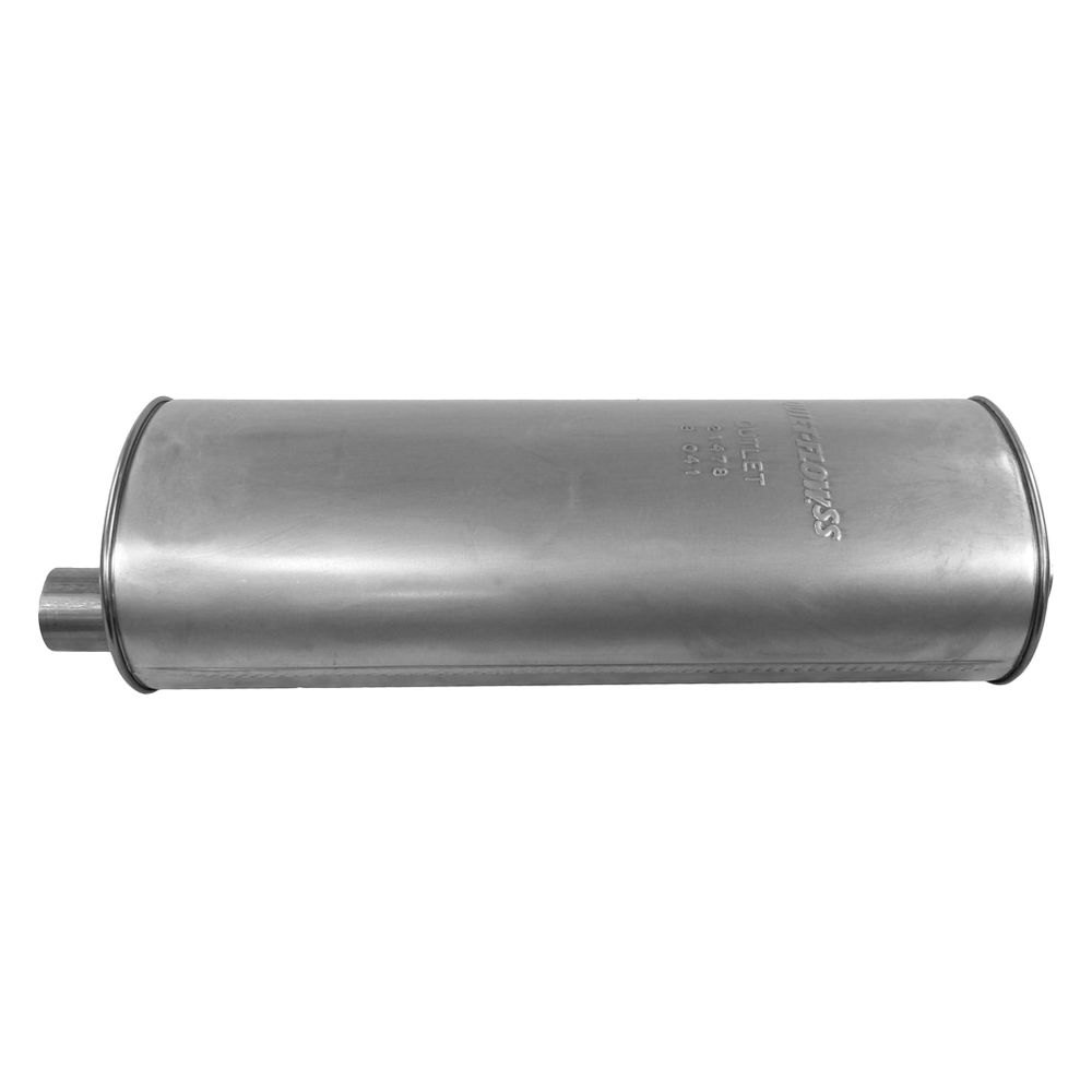 Free Flow Exhaust >> Walker® 21478 - Quiet-Flow™ Stainless Steel Oval Aluminized Exhaust Muffler