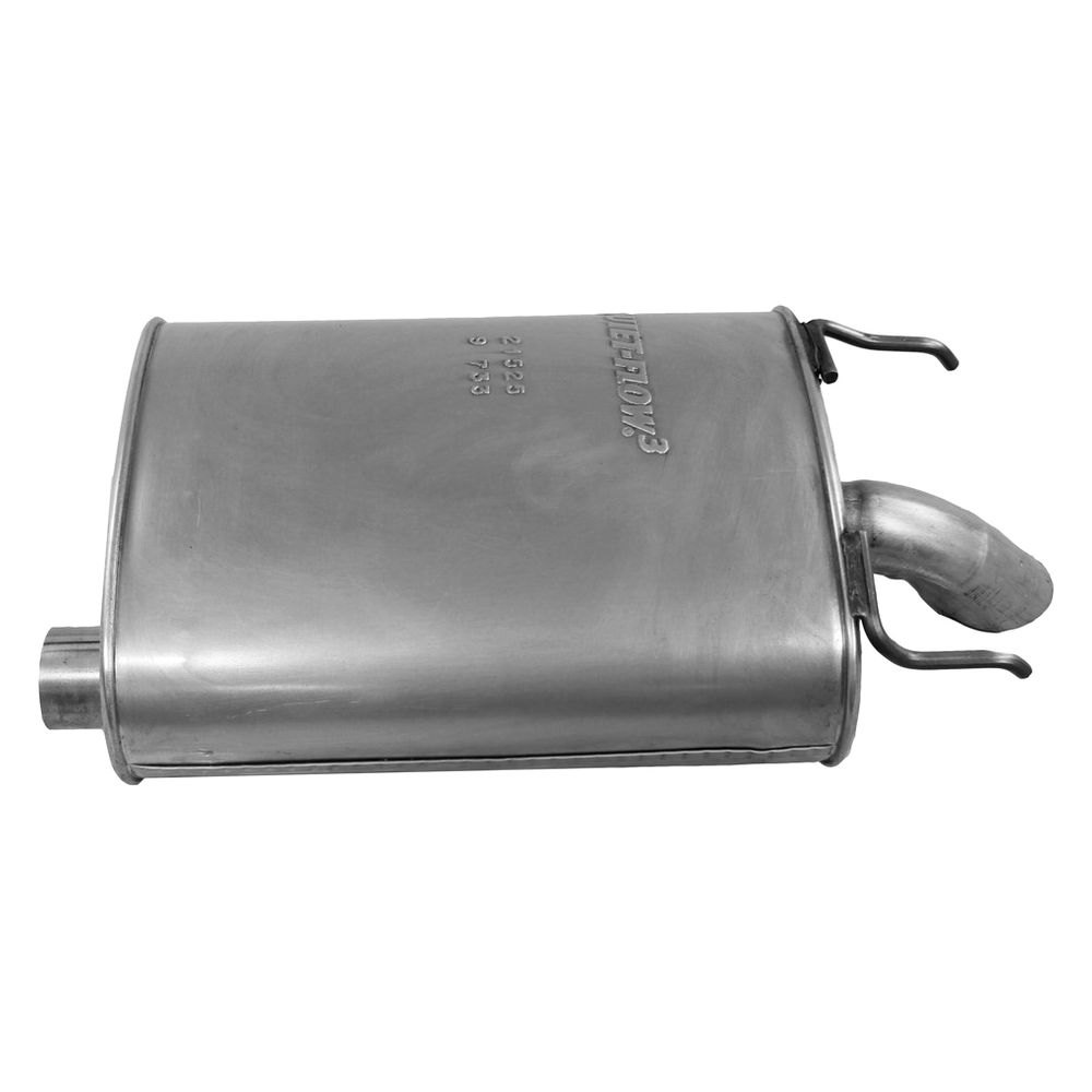 Walker® 21525 - Quiet-Flow™ Stainless Steel Oval ...