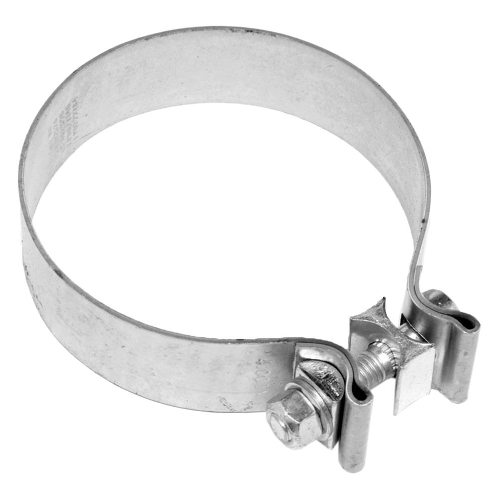 Walker stainless steel band exhaust clamp