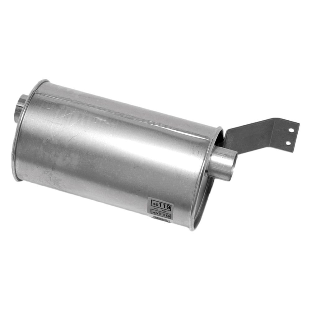 Walker® 40119 - Quiet-Flow™ Aluminized Steel Round Exhaust ...