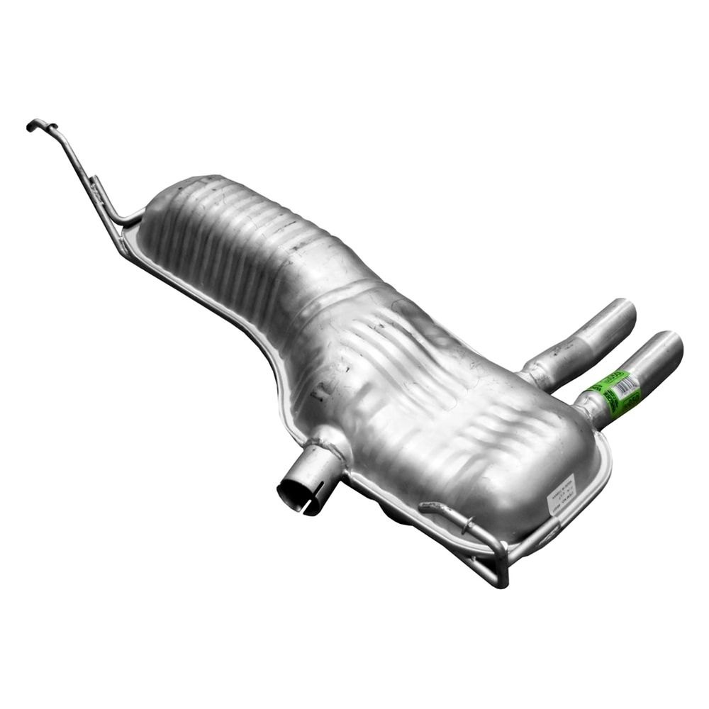 Walker quiet flow aluminized steel oval exhaust muffler assembly