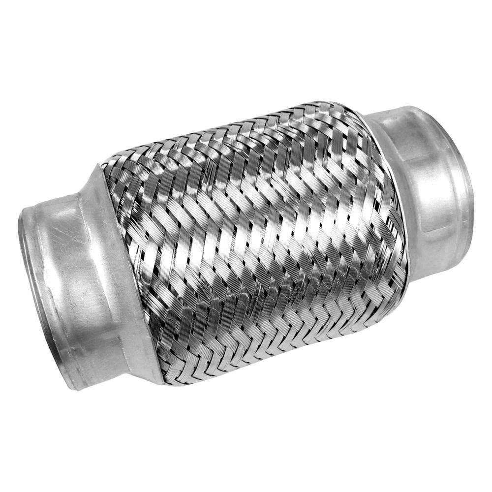 Walker stainless steel bare id flex connector