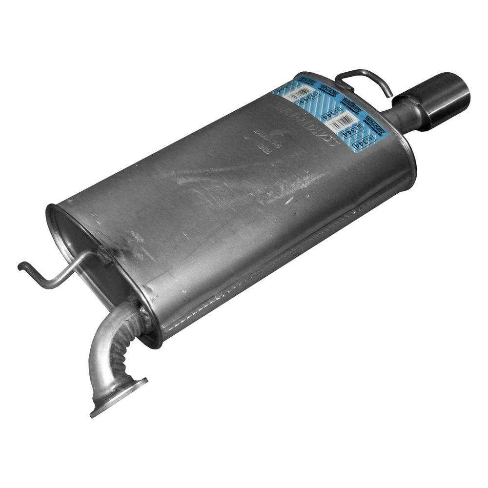 Walker® 53344 - Quiet-Flow™ Stainless Steel Oval ...