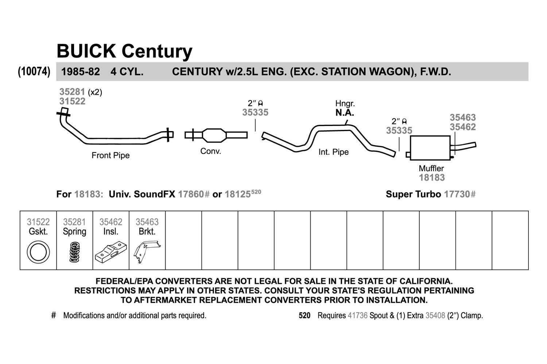 Exhaust Bracket Walker 35463