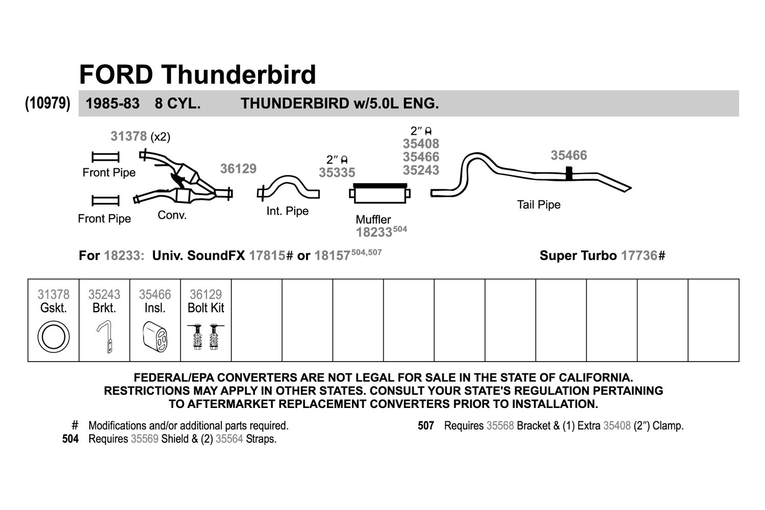Walker 31378 High Temperature Graphite With Wire Mesh Core Donut 1985 Thunderbird Wiring Diagram Exhaust Pipe Flange Gasket