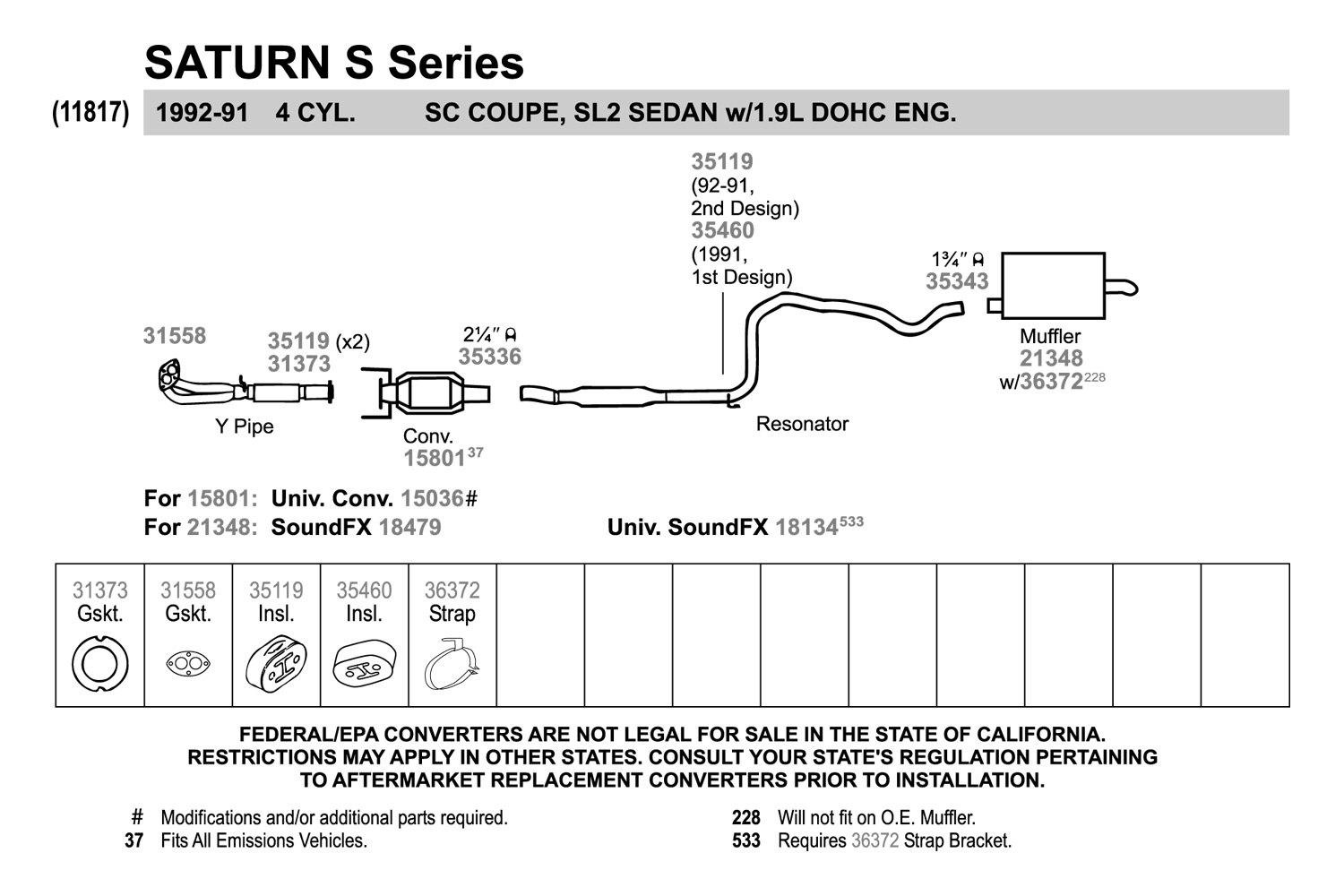 for saturn sl2 91 98 quiet flow stainless steel oval aluminized rh ebay com 2004 saturn ion exhaust system diagram 2006 saturn ion exhaust system diagram