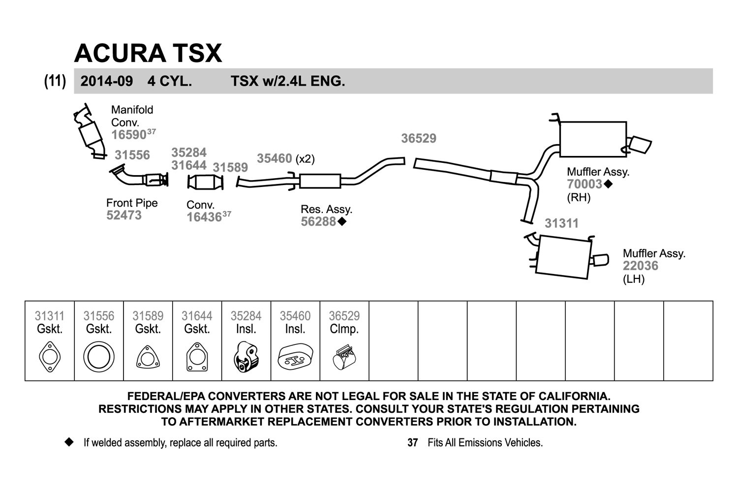 Acura Tl Exhaust Diagram All Kind Of Wiring Diagrams - Acura tl exhaust system