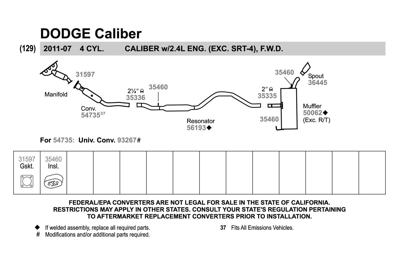 34 2007 Dodge Caliber Parts Diagram