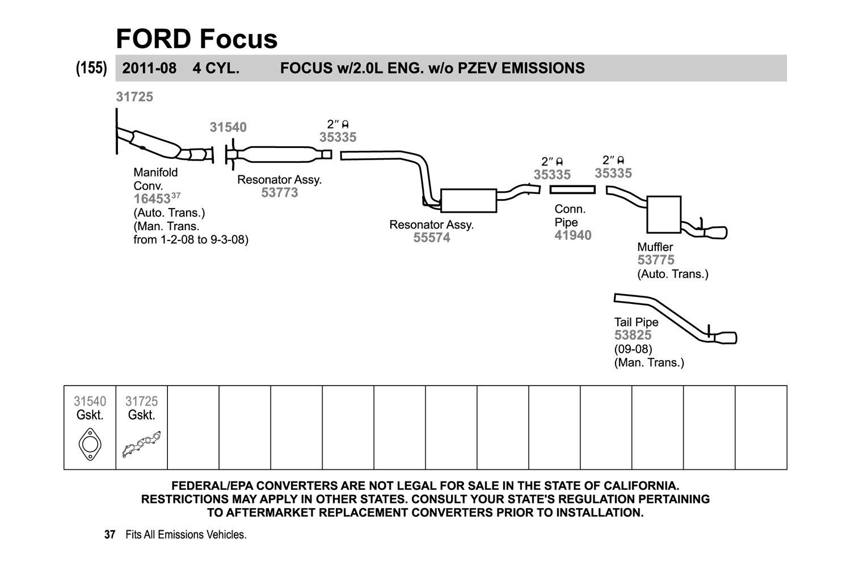 Walker Exhaust Reducer Source · Walker Exhaust Schematic DIY Enthusiasts Wiring  Diagrams