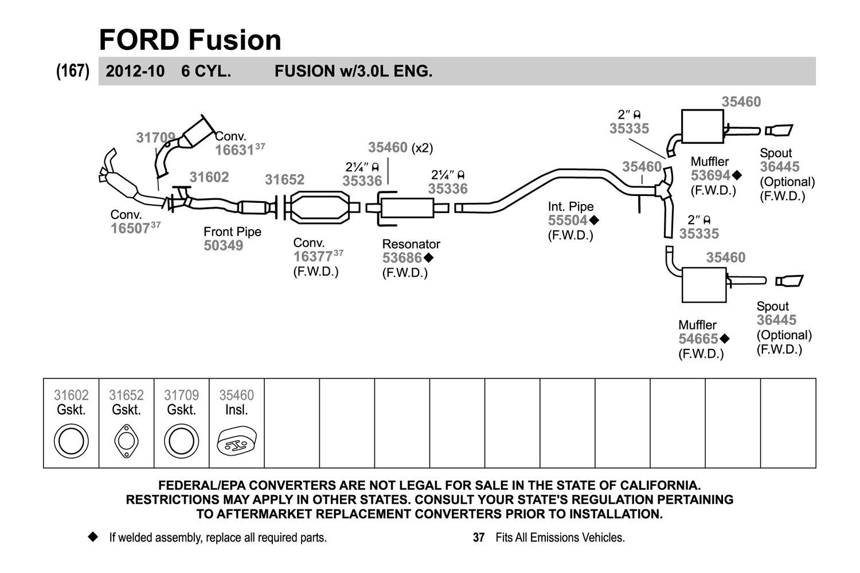 Walker Exhaust System Diagram - Wiring Diagram Liry on
