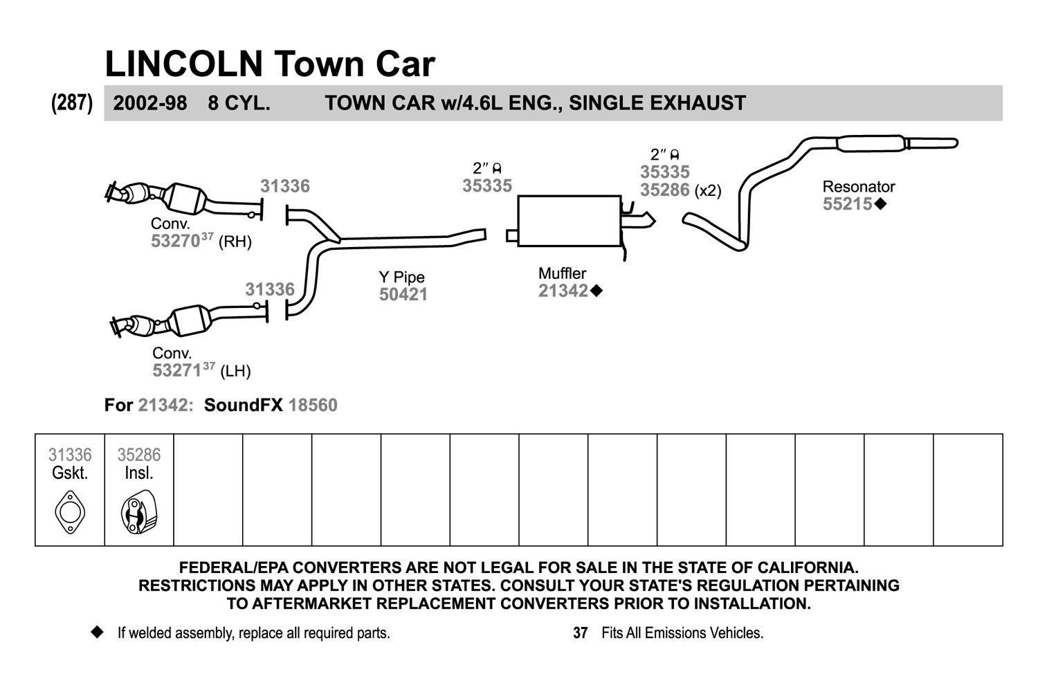 1999 lincoln town car exhaust diagram diy enthusiasts wiring 2000 lincoln town car exhaust diagram anything wiring diagrams u2022 rh flowhq co 1998 lincoln town car 1998 lincoln town car asfbconference2016 Gallery