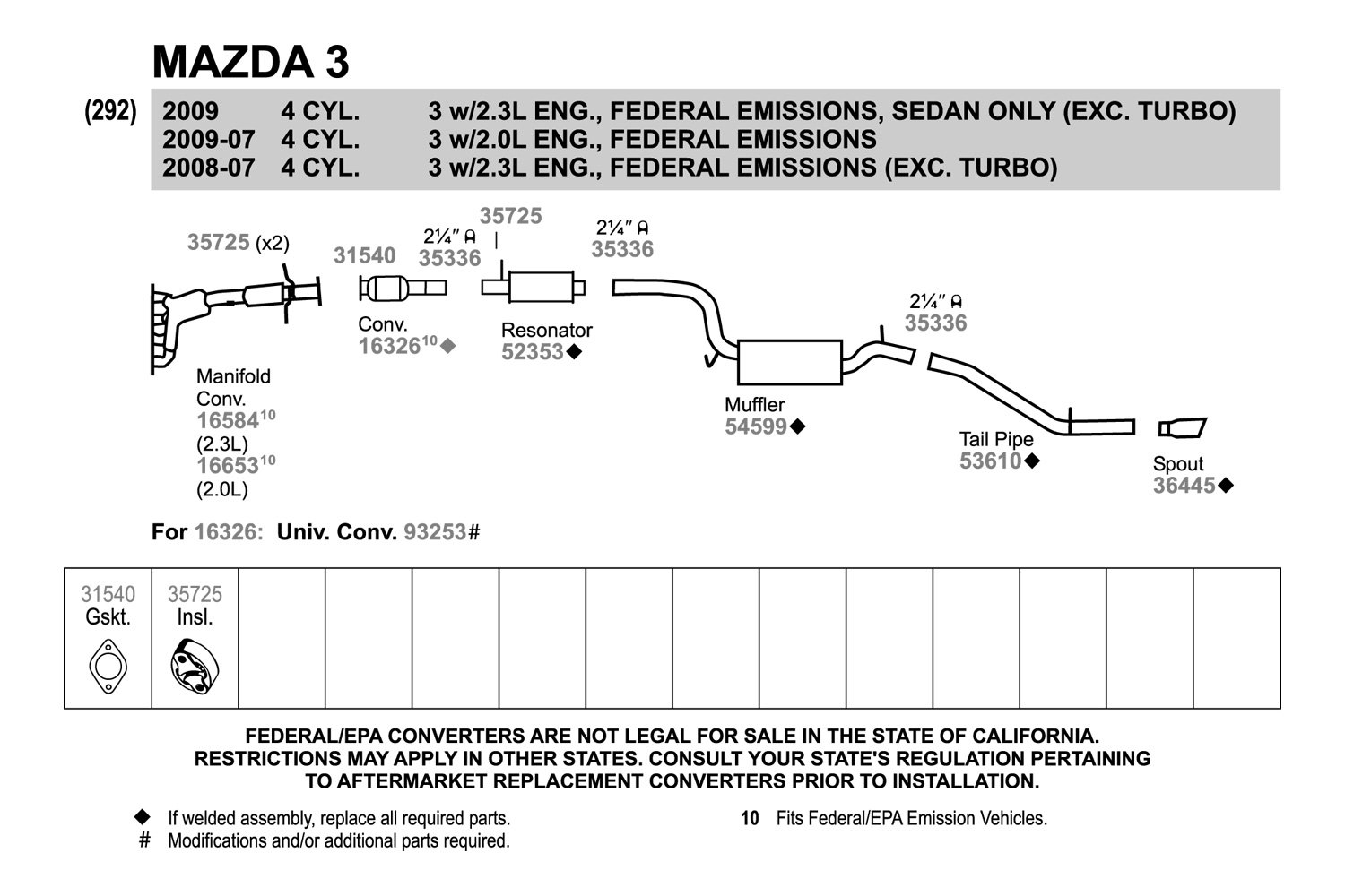 2003 Mazda Protege Exhaust System Diagram Electrical Wiring 99 Schematics Diagrams Diy Enthusiasts U2022 Rh Okdrywall Co 5 2006 6