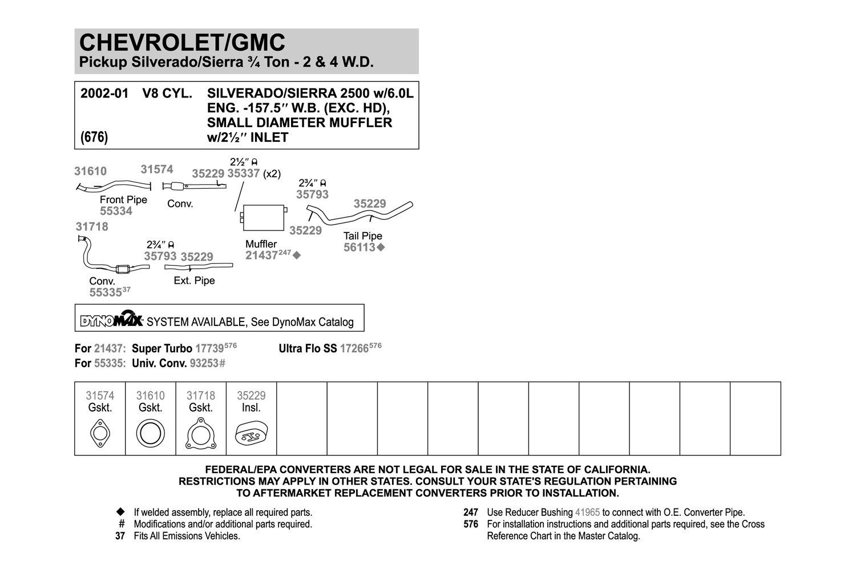 Walker 55334 Front Exhaust Pipe