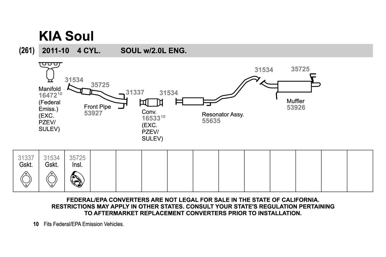 2011 kia soul exhaust system diagram product wiring diagrams u2022 rh genesisventures us 2012 kia soul wiring diagram Kia Sportage Wiring Diagrams