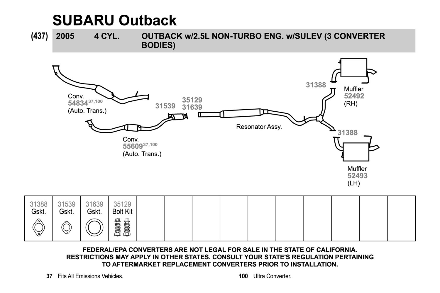 2002 Subaru Legacy Exhaust Diagram Trusted Wiring Outback Parts 2005 System Simple Electronic 2001