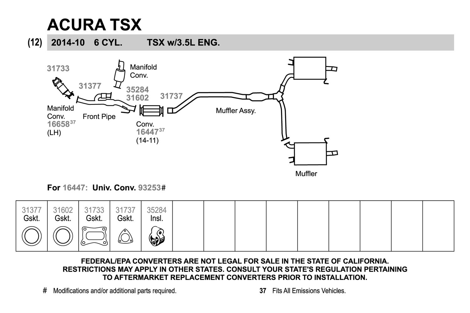 Acura Tsx Exhaust Diagram Data Wiring Diagrams - Acura tsx aftermarket parts
