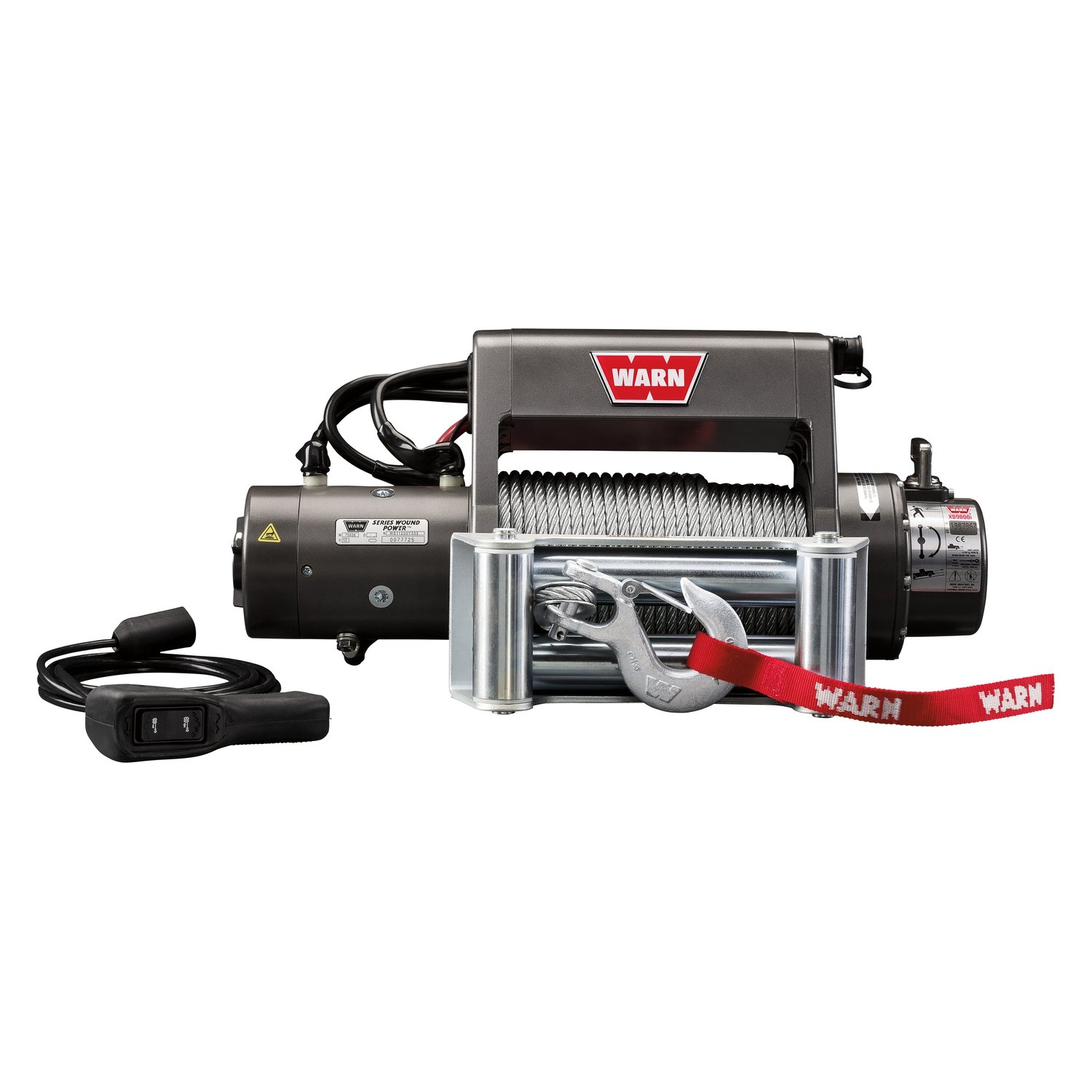 Warn 9000 Lbs Xd9000i Premuim Series Self Recovery Electric Winch Wiring Diagram Free Picture With Wire