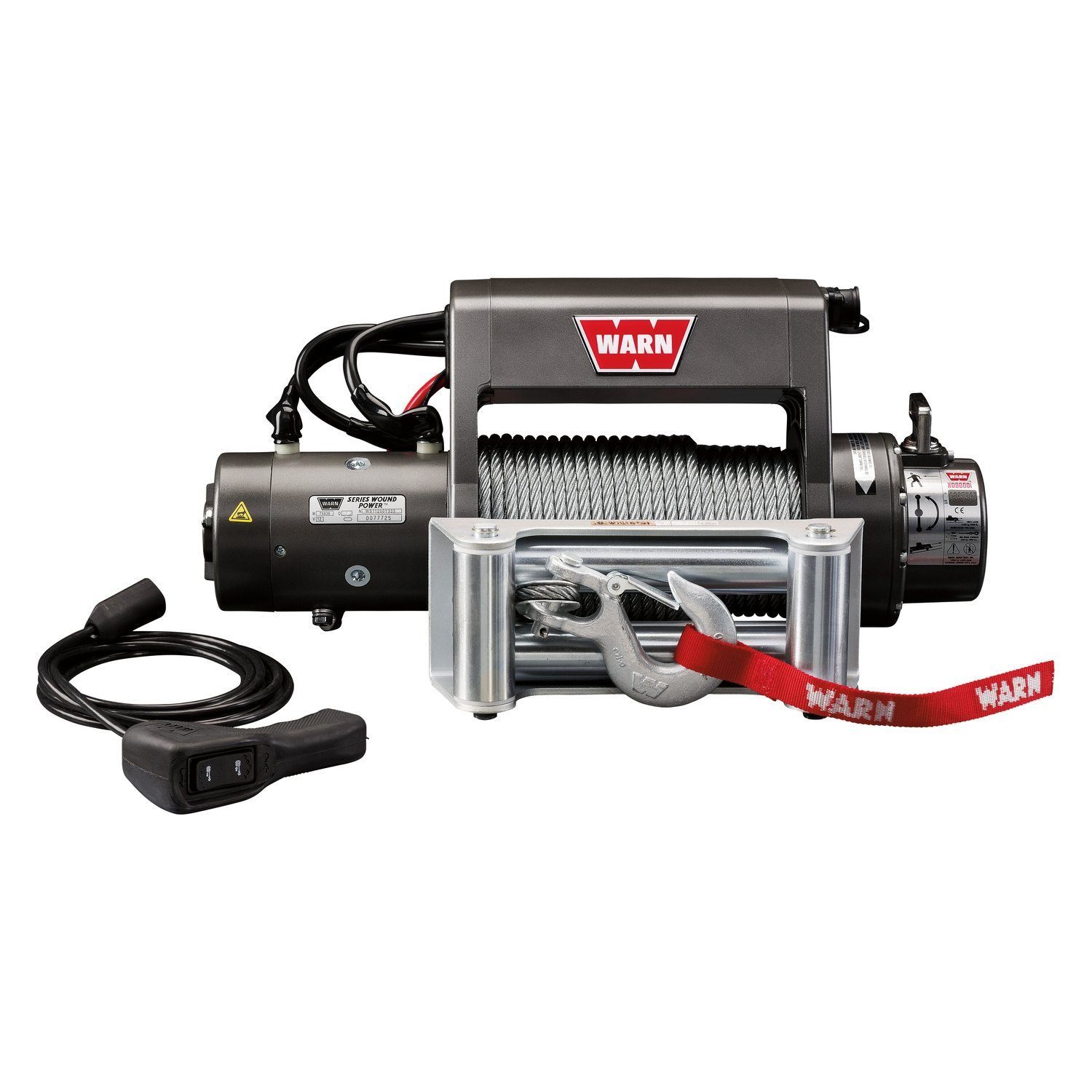 Warn 9000 Lbs Xd9000i Premuim Series Self Recovery Electric Winch Wiring Diagram Free Picture Ropewarn With Wire