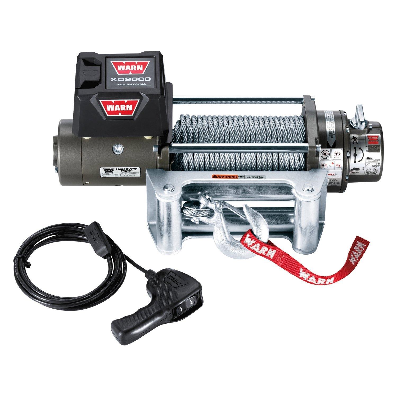 WARN® - 9,000 lbs XD9000 Premuim Series Self-Recovery Electric Winch ...