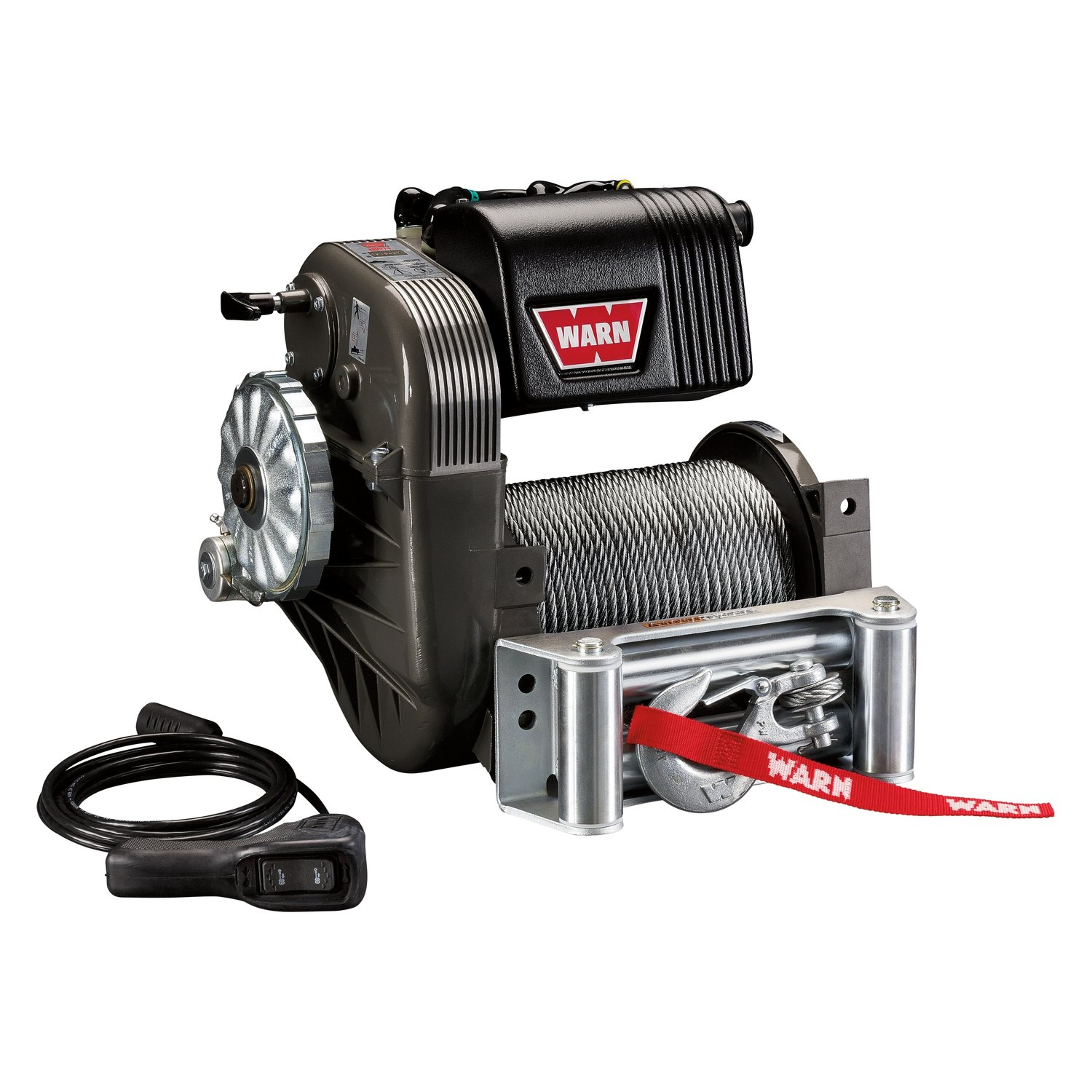 Warn 8000 Lbs M8274 50 Series Self Recovery Electric Winch With Wiring Diagram As Well Also Ropewarn Wire