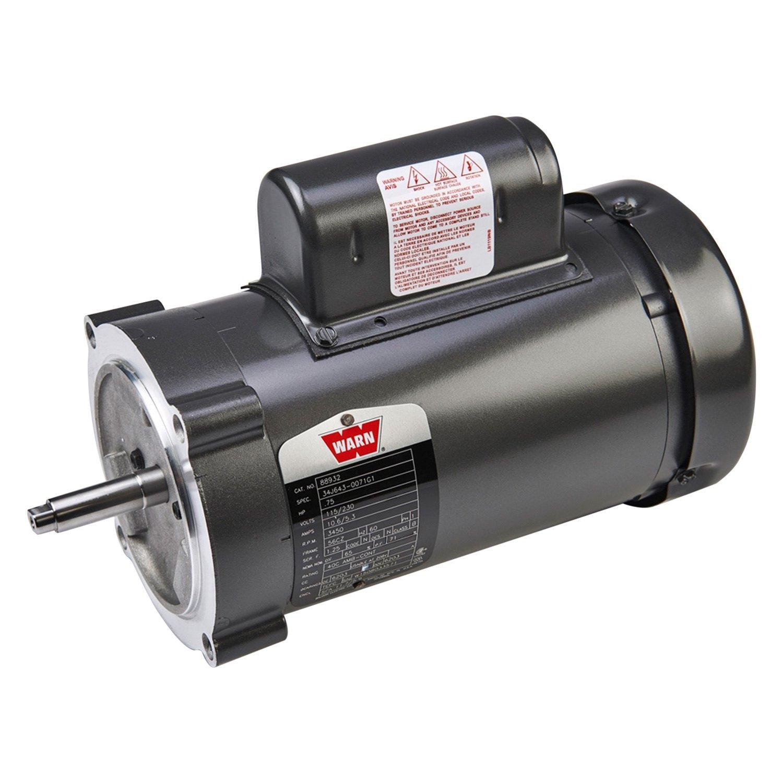 Warn winch motor Warn winch replacement motor