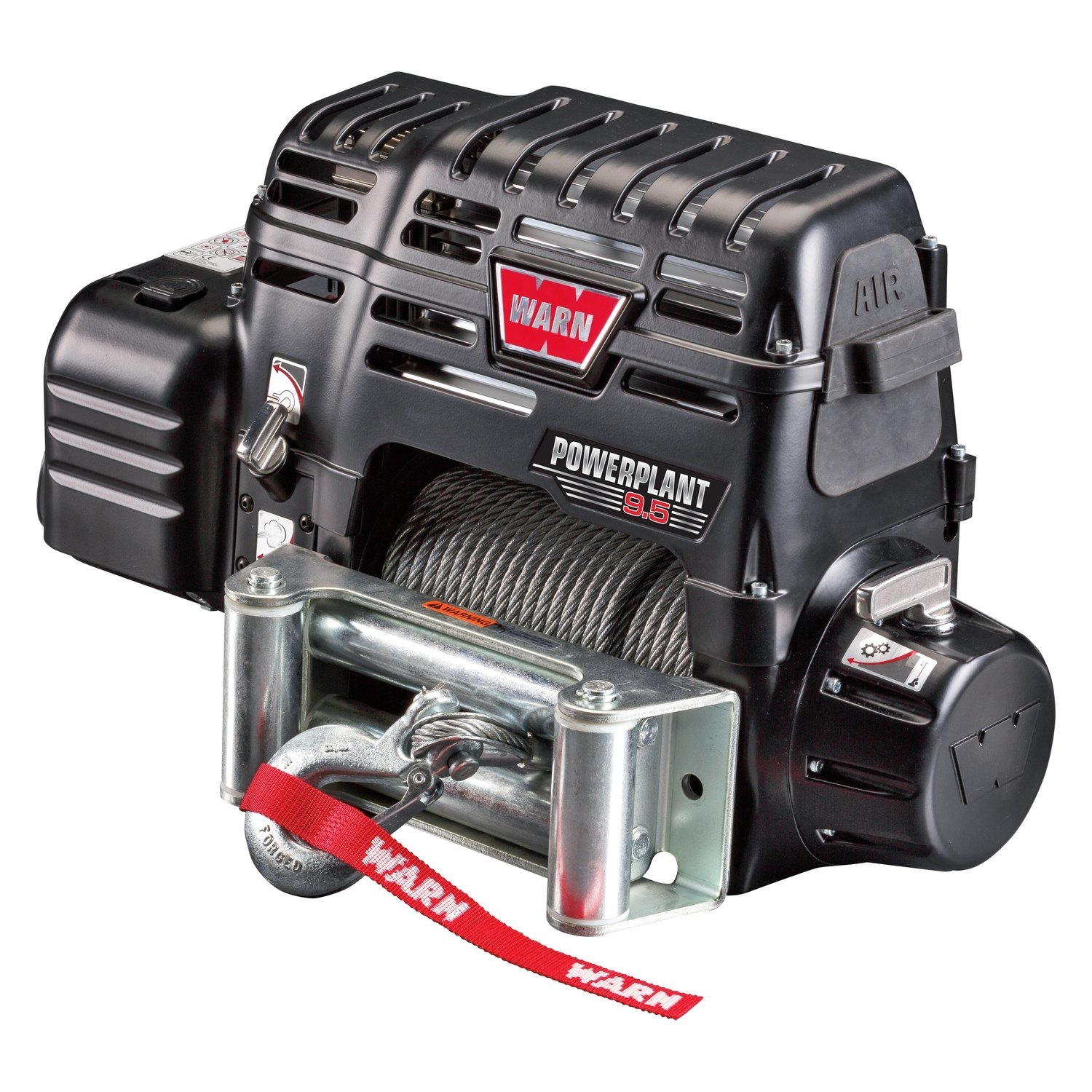 WARN® 91800 - PowerPlant Dual Force HP 9500 lbs Electric Winch with on
