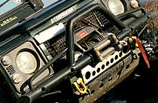 WARN® - Rock Crawler Front Bumper on Land Rover