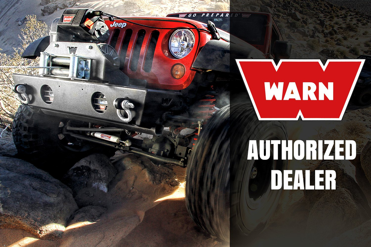 Warn 68801 16500 Lbs 165ti Thermometric Series Self Recovery How To Wire A Jeep Winch Authorized Dealer