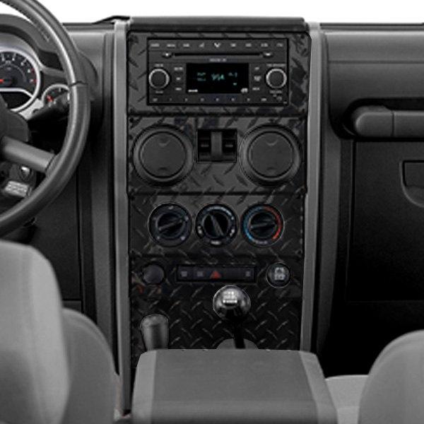 Warrior® - Jeep Wrangler 2009 Center Dash Cover
