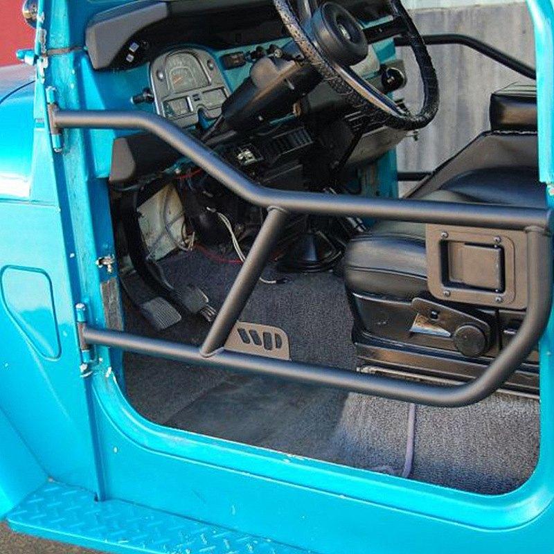 Warrior® - Adventure Tube Doors & Warrior® - Toyota Land Cruiser FJ40 Body Code 1977-1980 Adventure ...