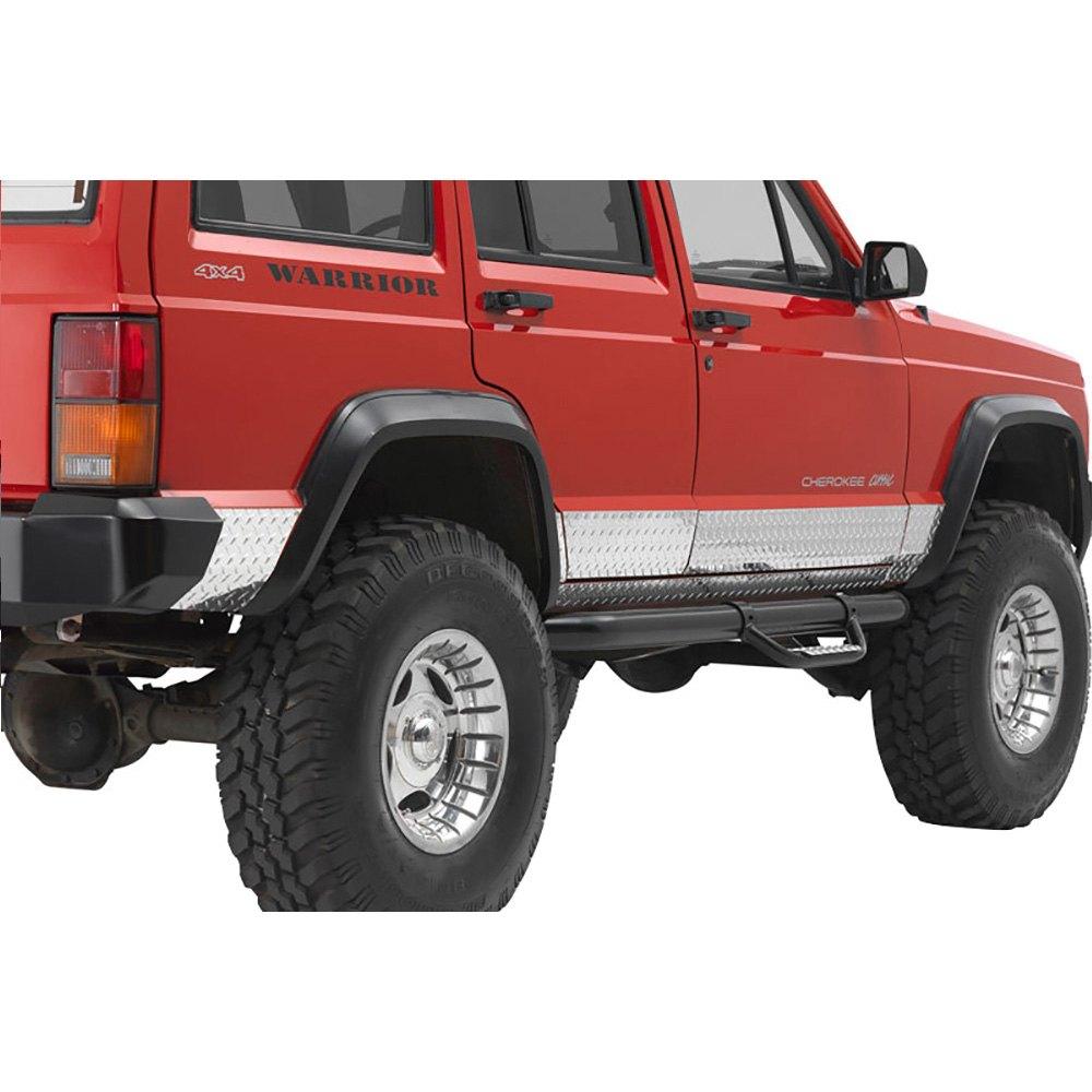 Jeep Cheroker: Jeep Cherokee 1984-2001 Side Plates