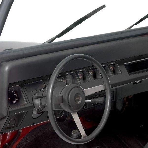 Warrior® - Jeep Wrangler 1987 Center Dash Overlays
