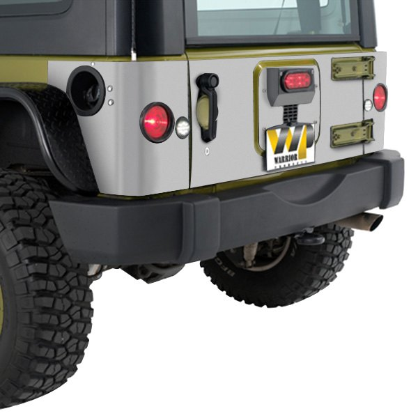 Warrior® 920D-3PA - Inner Tailgate Cover with 3rd Brake Light Kit