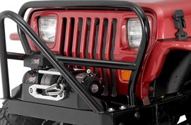Warrior Front Bumper on Jeep Wrangler
